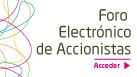 [ES][OR] Foro electrónico de accionistas